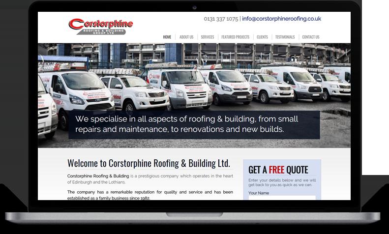 website for roofers edinburgh