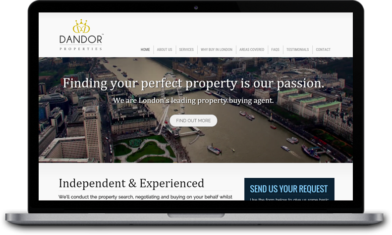 website for property agent london