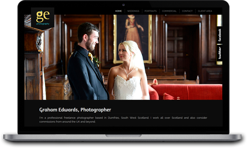 Website Design for GE Photography