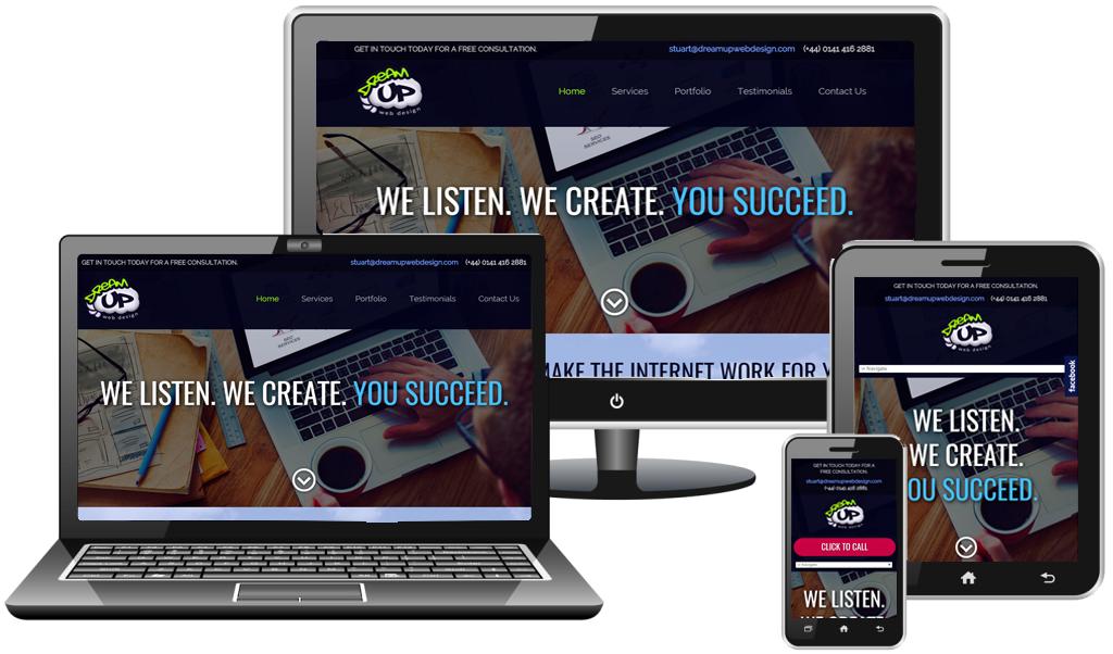 responsive web design glasgow