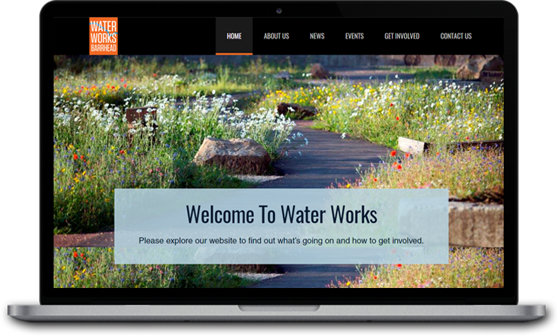 Website Design for Barrhead Water Works
