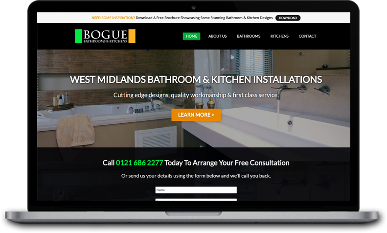 website for bathroom designer