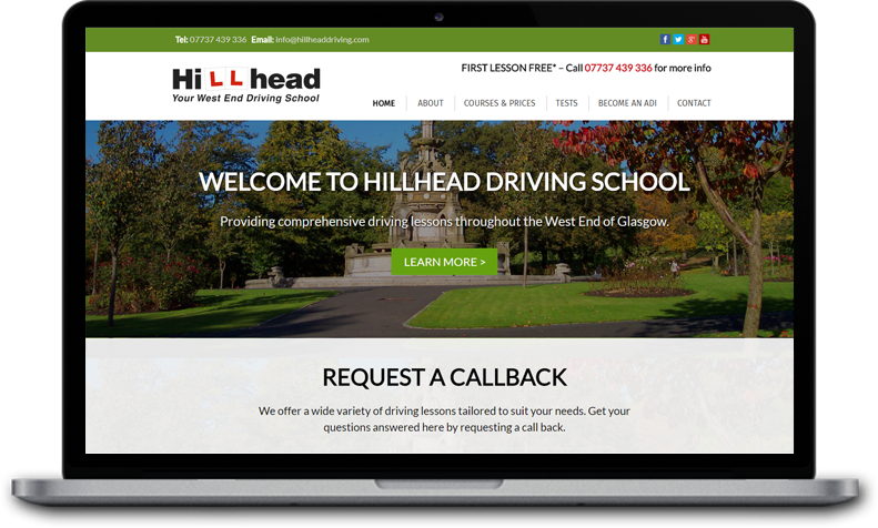 website for glasgow driving school